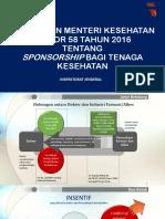 Pemaparan Dan Pembahasan Permenkes 58 2016 Dengan KPK