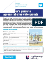 Wedc an Engineer s Guide to Apron Slabs for Water Points 2012