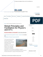 Rehab Principles and Facilitation for Physio's and OT's _ PamThePhysio