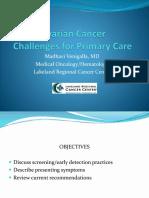 Ovarian Cancer Venigalla