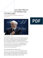 11 Datos Curiosos Sobre Warren Buffett,..
