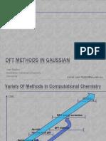 DFT in Gaussian