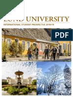 International Student Prospectus 201819 Lund University