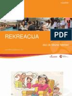 REKREACIJA - 1. i 2. Predavanje