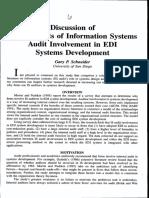 T8 is Audit Involvement Criticals