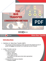 Link 3 - Introduction to Motor Bus Transfer