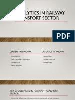 Analytics in Railway Transport Sector