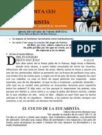 Hora Santa Con San Pedro Julián Eymard. El Culto de La Eucaristía (33)