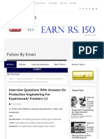 Interview Questions With Answers on Production Engineering for Experienced_ Freshers-12 - Mechanical Engineering Jobs - MEJ