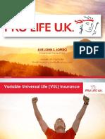 PRU LIFE UK - Product Summary