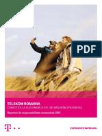 Raport de Sustenabilitate 2015 Telekom