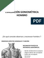 Evaluacion Goniometrica Hombro