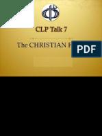 Talk 7 CLP
