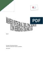 Manejo Integral Del Paciente Con Heridas Crónicas.vol1