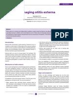 Managing Otitis Externa