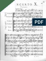 Corelli Op6 n10 Partitura Originale
