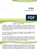 Básico de HTML