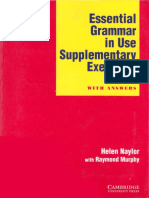 Essential Grammar in Use_Supplementary Exercises