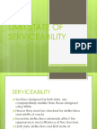 Limit State of Serviceability