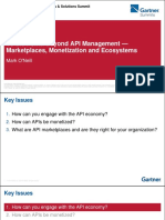 To the Point Beyond API Management