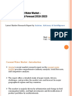 Coconut Water Market Research Report by Arizton
