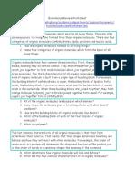 Bio Molecule Review Worksheet