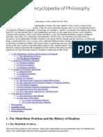 Dualism (Stanford Encyclopedia of Philosophy).pdf