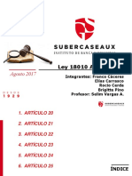 Ley 18010 Art. 20-25. 20-25. 20-25