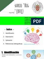 Presentación Cuestionario Big Five (BFQ)