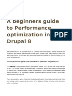 A beginners guide to Performance optimization in Drupal 8 | Valuebond