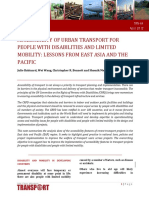TRN 44Accesssibility of Urban Transport for People With Disabilities Final 2May2012
