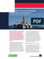 Offshore Const Policy
