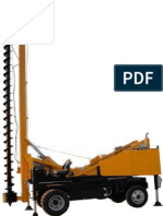 Small Piling Rig