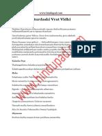 Ananta Chaturdashi Vrata Vidhi PDF Puja Procedure of Anantha Padmanabha Swamy Vratham