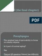 Eye Stuff the Final Chapter