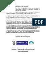 Texto Flyer Feria