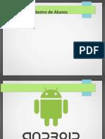 Android 02 Registo Alunos