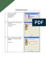NikonSpectra Job Download Procedure