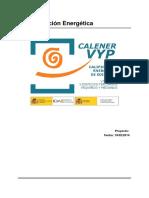 Ejemplo Calificacion CALENER