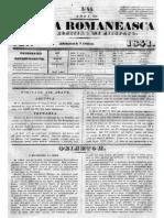 Albina Romaneasca 1841 Nr45