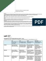 UALab Grade Criteria Exemplification Matrix Level 3 v1.0