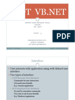 VB .NET Unit-3
