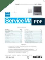 Philips 190B5 Service Manual