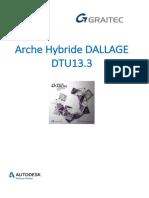 Support Arche Hybride Dallage Dtu 13 3