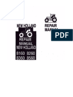 Ford New Holland 8160 8260 8360 8560 Repair Manual