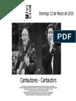 20160314-Cantautors Esp i Cat