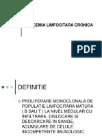 Leucemia Limfocitara Cronica