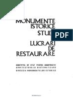 09 Stefan Bals Monumente Istorice Studii Si Lucrari de Restaurare Restaurarea Cetatii Taranesti Din Cilnic