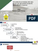 Aktivitas Penambangan Silika Secara Umum Tambang Quary Bukit