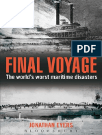 Final Voyage, The Worlds Worst Maritime Disasters - Jonathan Eyers